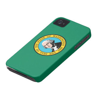 Statlig flagga av Washington Case-Mate iPhone 4 Skydd