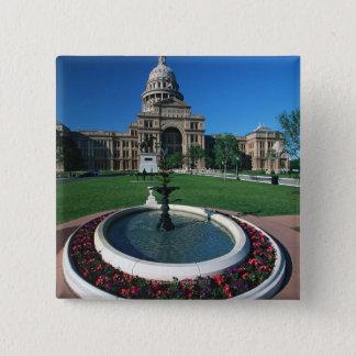 'Statlig huvudstad av Texas, Austin Standard Kanpp Fyrkantig 5.1 Cm