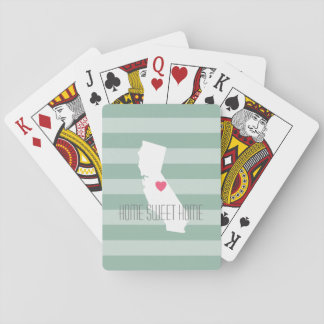 Statlig kärlek för Kalifornien hem med Casinokort