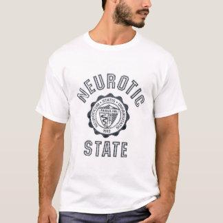 Statlig neurotiker tee shirts