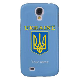Statlig vapensköld för ukrainare galaxy s4 fodral