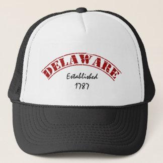 Statliga Delaware Truckerkeps