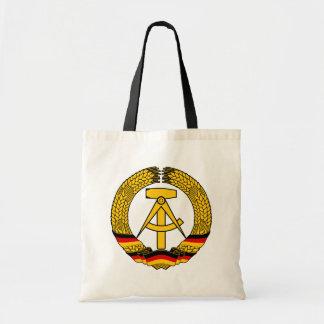 Statliga den East Germany vapenskölden/Deutschland Tygkassar