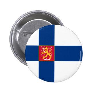 statliga finland knappar med nål
