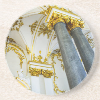 Statligt eremitboningmuseum St Petersburg Ryssland Underlägg Sandsten