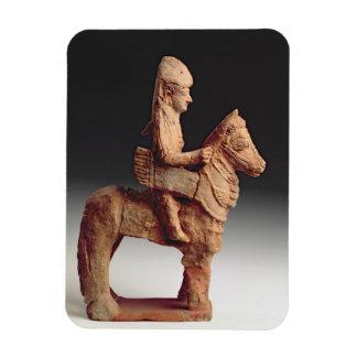 Statuette av en beväpnad skicklig ryttare, Byblos, Magnet