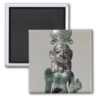 Statuette av en Phoeniciangudinna, från Phoenien Magnet