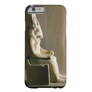 Staty av guden Montu med huvudet av en tjur, f Barely There iPhone 6 Fodral