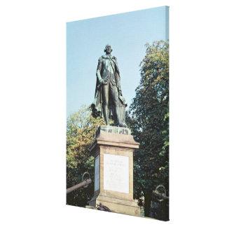 Staty av Jean Francois de Galaup Canvastryck