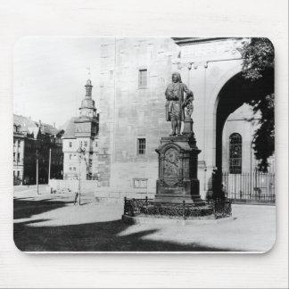 Staty av Johann Sebastian Bach Musmatta