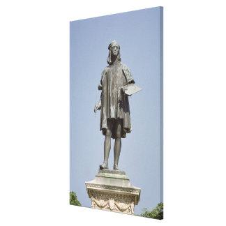 Staty av Raphael Sanzio av Urbino, 1897 Canvastryck