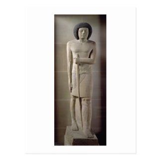 Staty av Sepa, gammalt kungarike (målad limestone) Vykort