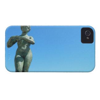 Staty för Gaspar de Portola, Barcelona iPhone 4 Case-Mate Fodral
