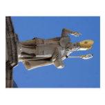 Staty för St. Blasius, Dubrovnik, Kroatien Vykort