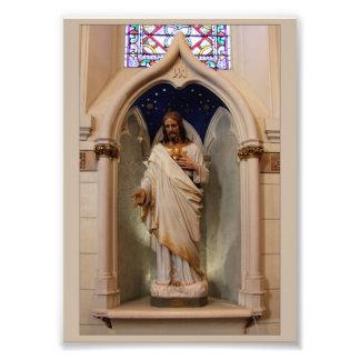 Staty i det Loretto kapell Fototryck