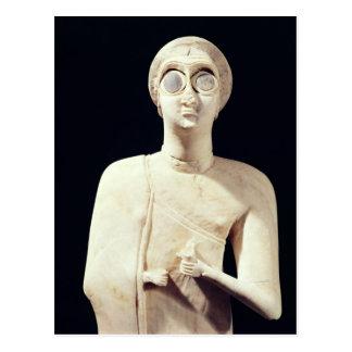 Statyn av den underbara gudinnan, från berättar vykort
