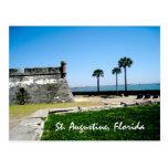 Staugustinefort St Augustine, Florida Vykort