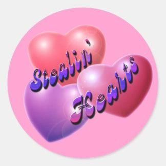 Stealin Hearts* klistermärke
