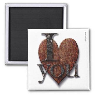 Steampunk älskar jag dig valentinen magnet