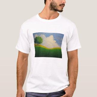 Steampunk dagdrömhorisont tee shirt