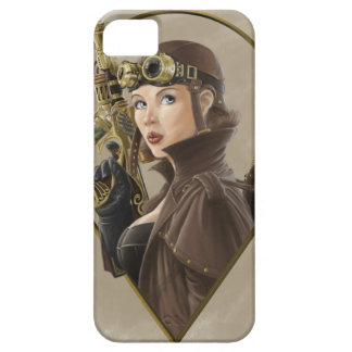 Steampunk flygareFodral-Kompis fodral iPhone 5 Cover