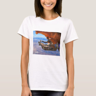 Steampunk flygmaskin tröjor