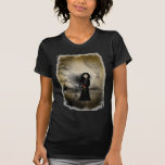 Steampunk Goth flickakvinna skjorta för T-shirts