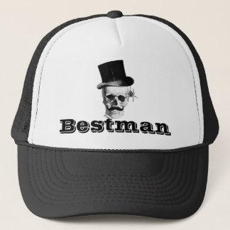 Steampunk gotisk bestman keps