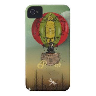 Steampunk konstblackberry fodral - vind av ändring iPhone 4 cover