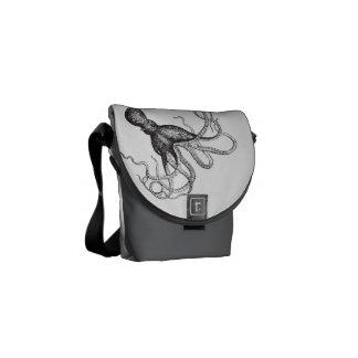Steampunk messenger bag