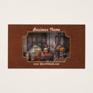Steampunk - privat spritfabrik visitkort