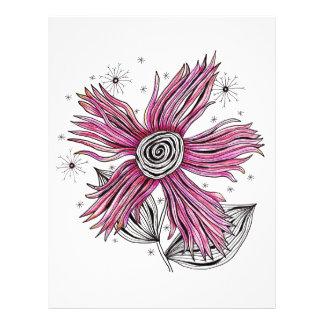 Steampunk rosablomma brevhuvud
