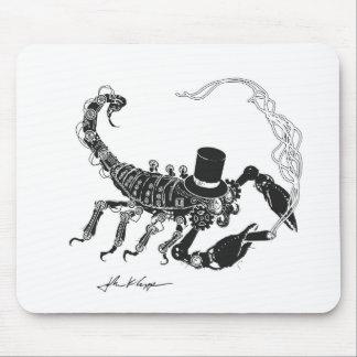 Steampunk Scorpio Mousepad Musmatta