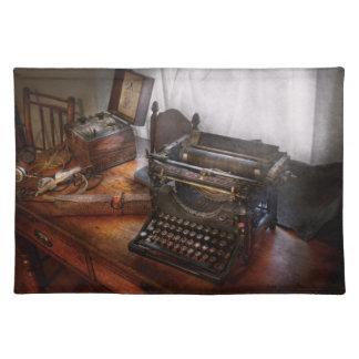 Steampunk - skrivmaskin - den hemliga budbärare bordstablett