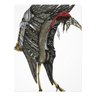 Steampunk Stork Brevhuvud