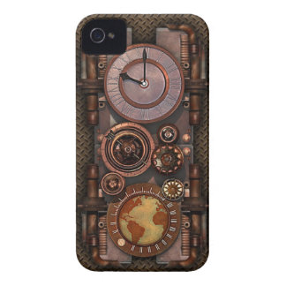 Steampunk ur v2 iPhone 4 Case-Mate fodral