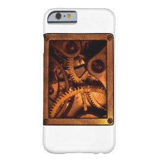 Steampunk utrustar det mobila fodral för urverk barely there iPhone 6 fodral