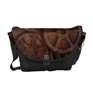 Steampunk utrustar kurir väska