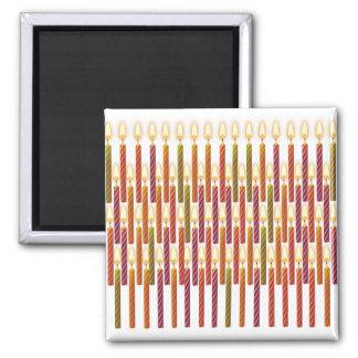 Stearinljus samling magnet