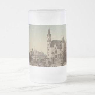 Steenen, Antwerp, Belgien Frostat Ölglas
