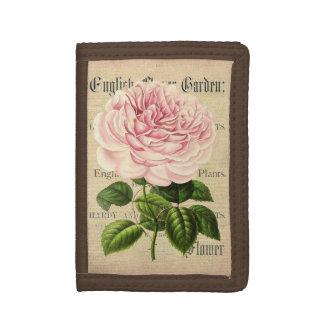 Steg den kvinnliga blom- plånboken för