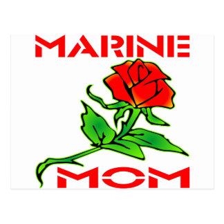 Steg den marin- mamman för USMC Vykort