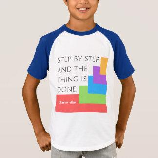 Steg-för-steg skjorta tshirts