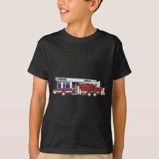 Stegen avfyrar lastbilen tee shirt