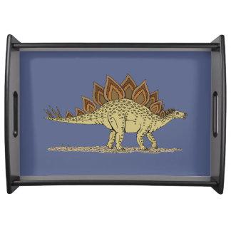 Stegosaurus Frukostbricka