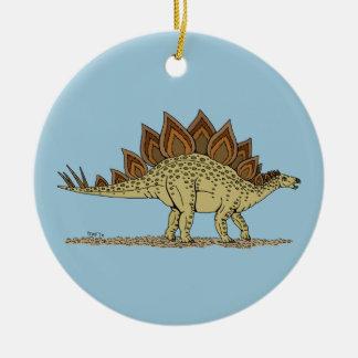 Stegosaurus Julgransprydnad Keramik