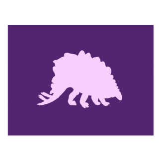 stegosaurus vykort