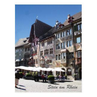 Stein förmiddag Rhein Vykort