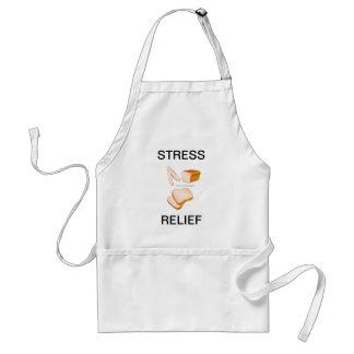 Stekhett förkläde för matlagning för brödspännings