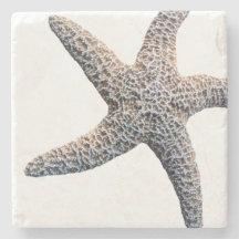 Sten för sjöstjärnadrinkunderlägg stenunderlägg
